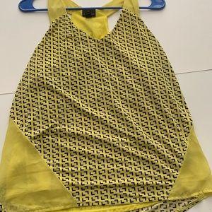 Yellow Arrow pattern Worthington Tank